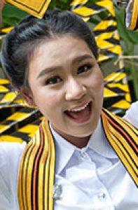 "Ms. Jatuporn ""Eiw"" Charukesnant<br />Thai Language (2015)"