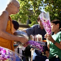 End of Buddhist Lent (10/5/14)