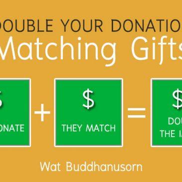 Employee Matching Donation