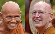 Dharma Talk by Loung Por Liem and Ajahn Pasanno – June 24